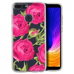 Coque rose vr pour Huawei...