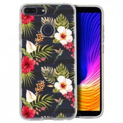 Coque multi roses blanches...