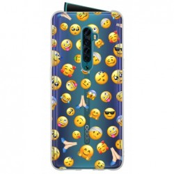Coque smiley cool pour Reno 2