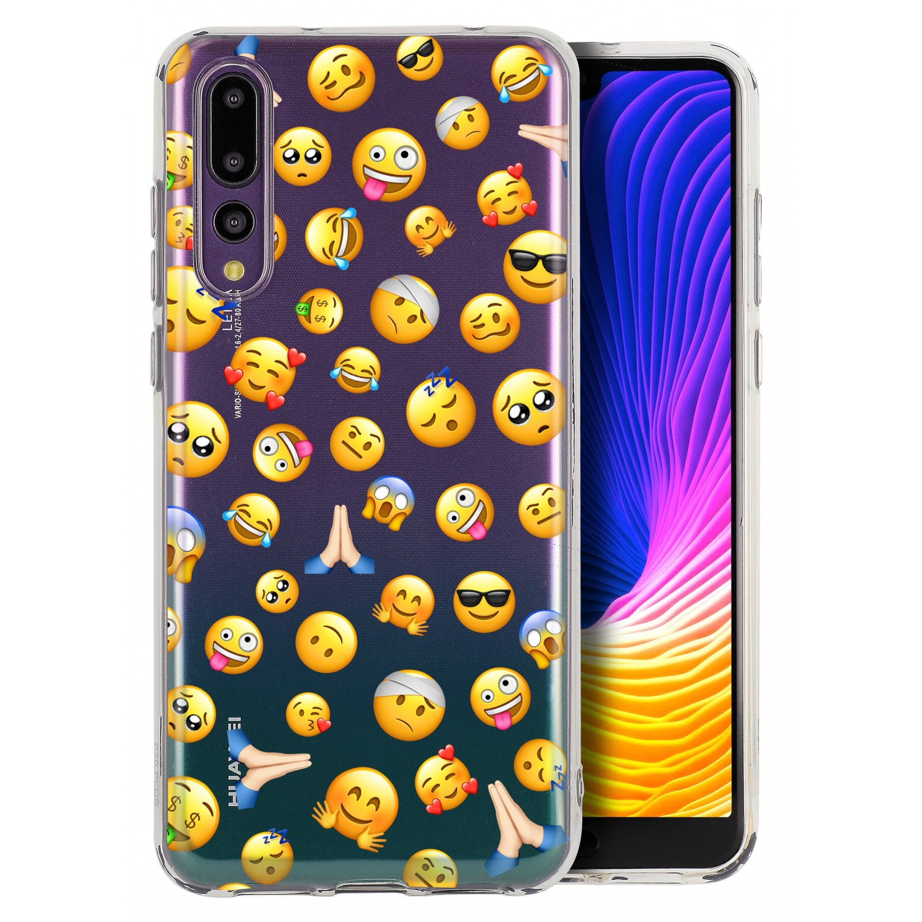 Coque smiley cool pour Huawei P20 pro