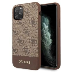 Coque Guess Charme marron...