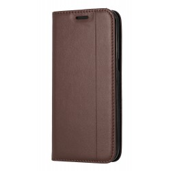 Etui Folio Trait Marron...
