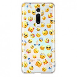 Coque smiley cool pour Mi 9T
