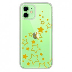 Coque etoile or pour Iphone 12
