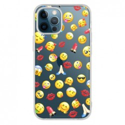 Coque smiley pour Iphone 12...