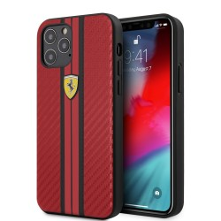 Coque Ferrari Carbone Rouge...