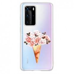 Coque cone rose pour Huawei...